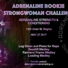 Adrenaline Rookie Strongwoman Challenge