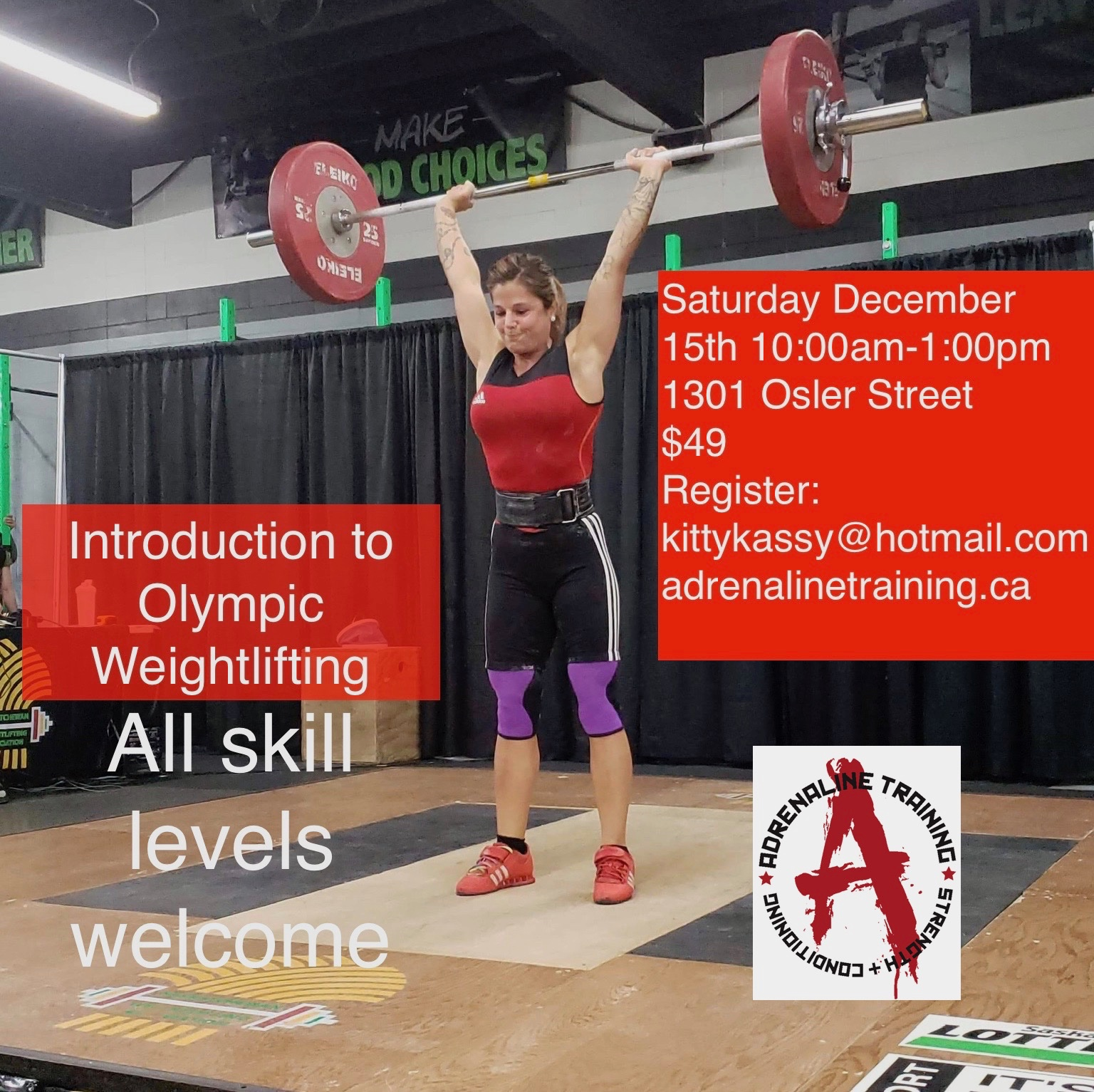 Intro to Olympic Weightlifting - Image 1