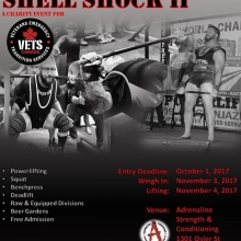 Adrenaline is proud to be the host venue for Shell Shock II. Entry forms are now available on our website at the link below.  <a href=http://adrenalinetraining.ca/blogs/post/shell-shock-ii. target=_blanc>http://adrenalinetraining.ca/blogs/post/shell-shock-ii.</a>  #shellshock2 #powerlifting #gpc #cpf #adrenaline #southsaskpowerlifting