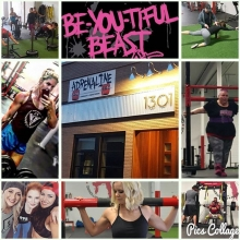 Received this message from one of Adrenalines #beyoutifulbeasts yesterday. So I'm creeping all of Adrenaline's pictures on fb and watching the gym come to be what it is now and I'm feeling emotional for you lol. You've done such a great job with this gym