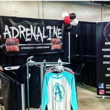 All setup and ready to go at the @reginafitnessandnutritionexpo.  Visit us tomorrow at #booth17 for some amazing expo promos on memberships, classes, and personal training.  Our social media photo contest grand prize is a six month membership with unlimit