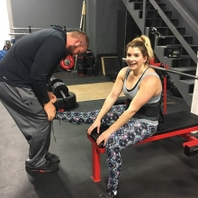 Our coaches always go that extra mile. No detail is overlooked in our training sessions.  #adrenalinefamily #yesimtieinghershoes #hershoeswerenttiedtomyliking  #tieupyourshoesonyoke  #footstability #strongwoman #yoke  #coaching #personaltraining #yqrgyms