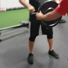Bet your gym doesn't have one of these! Not sure if this particular piece of equipment actually has a name, so let's have a contest to name it.  1 set of 180lbs totally fried my entire posterior chain. If you are a strength athlete at Adrenaline this will