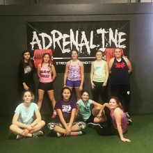 Pee Wee Tigers had their first training session at Adrenaline today with @wwfitness_deanna_wells  We are looking forward to having them back. . . .  #adrenalinefamily #hockey #teamtraining #inseasontraining #performance #sports #strength #strengthandcondi