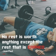 Sometimes the most important part of your training is giving your body some rest. . #motivationmonday #teamadrenaline #powerlifting #strongwoman #strongman #weightlifting #strength #Saskatchewan #yqrfitness