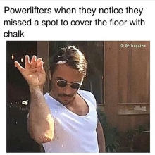 Just too funny not to share.  I'm sure most warehouse gym owners can relate.  Feel free to tag someone who might be guilty of this. . . . #adrenalinestrengthandconditioning #warehousegym #personaltraining #24hrgymmemberships #strengthsports #athletetraini