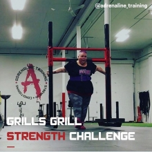 Our 2nd annual Grills Grill challenge is coming up in just 3 weeks! This challenge is an opportunity to celebrate the life of Jodi Grills and the impact she had on the fitness community in Regina. ⠀ .⠀ We will be hosting 3 events: Double Overhand Axle