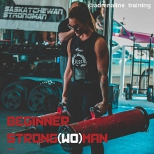 Wishing you had some exciting plans for Saturday? Well, now you do! Join us at our 2nd Beginner Strongman class on Saturday at 11am. This class we will be focusing on atlas stones and farmers. Bring some old clothes because atlas stones are MESSY! Link in