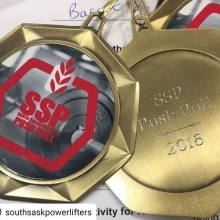 Tomorrow is the big day as we host the 2018 South Sask Push Pull Powerlifting Competition. Lifting starts at 10:30am.  We have 8 Adrenaline athletes competing so come down and show your support.  There will be beer gardens and fresh tasty macro friendly m