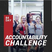 Adrenaline 84 day Accountability Challenge begins tomorrow with our first group class.  Registration is still open! JAN 12 - MAR 23.  The challenge includes: A. Access to the private support facebook group. B. Twelve 30 minute workouts including both lift