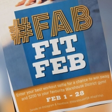 Interested in winning $200 towards products and services at Adrenaline?  Here's how👇👇 1. For the month of February post your workout selfies at Adrenaline and use #FabfitFeb and tag us @adrenaline_training in the photo. . It's as easy as that. You g
