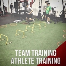 Athlete and Team Training at Adrenaline . . There is nothing better than working out with teammates in an environment that fosters individual improvement as well as team bonding.  Our goal is to build a solid athletic foundation through compound strength