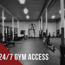 ❗️24/7 gym access❗️ . Summer schedules can be hectic and busy between work, summer sports, summer vacations, spending time at the lake, and trying to get your workouts in! Thankfully, we have 24/7 access to the gym with a membership! ☀️ . . .